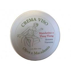 Crema viso Oliva e Macadamia - ylang ylang  60ml