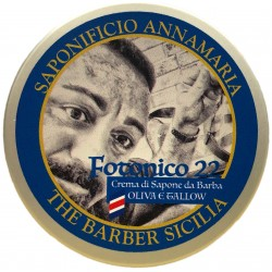FOTONICO 22 Crema di sapone da barba- Oliva e Tallow- 125 g